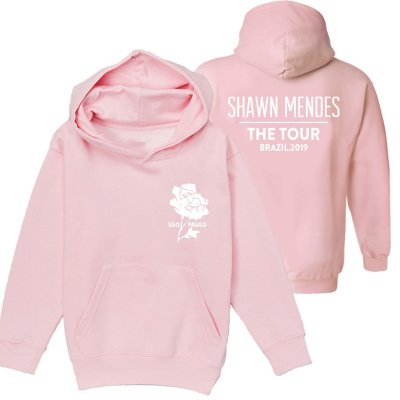 Moletom Rosa - Shawn Mendes The Tour - SP