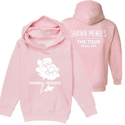 Moletom Rosa - Shawn Mendes The Tour -