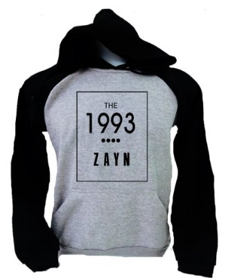 Moletom Raglan Zayn Malik – The 1993