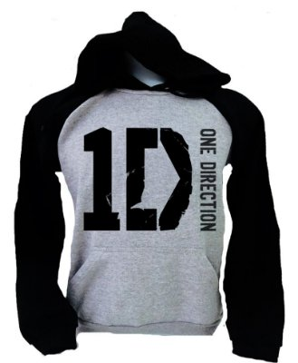 Moletom Raglan One Direction – 1D