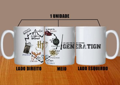 Caneca Harry Potter Mod 1