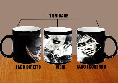 Caneca Harry Potter Mod 14