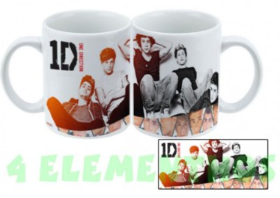 Caneca One Direction – Modelo 1