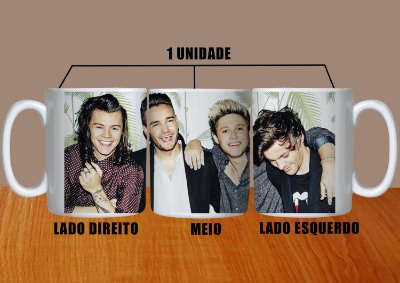 Caneca One Direction – Modelo 5
