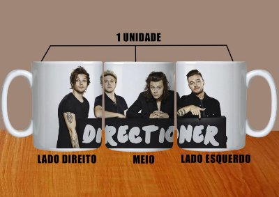 Caneca One Direction – Modelo 6