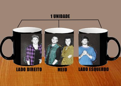 Caneca One Direction – Modelo 9