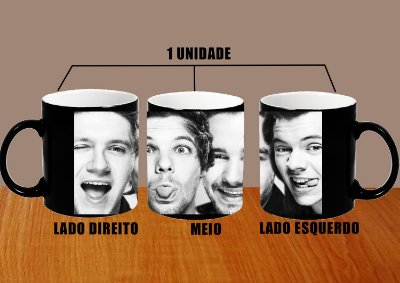 Caneca One Direction – Modelo 10