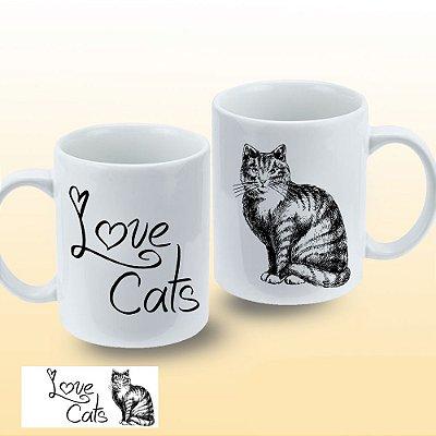 Caneca Love Cats