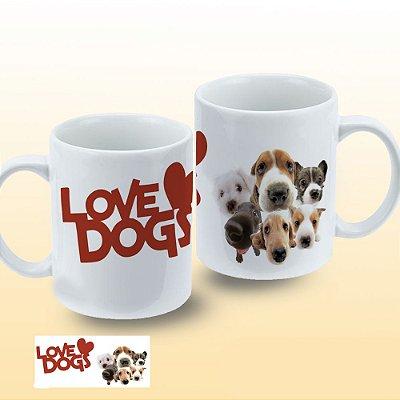 Caneca Love Dogs