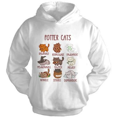 Moletom Harry Potter – Potter Cats