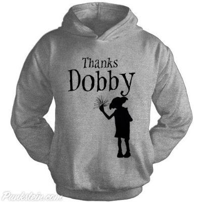 Moletom Thanks Dobby