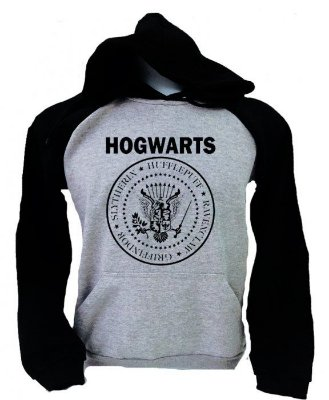 Moletom Raglan – Hogwarts
