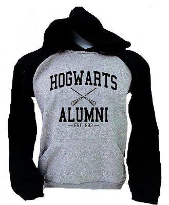 Moletom Raglan – Hogwarts Alumni