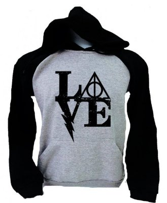 Moletom Raglan – Harry Potter – Love Relíquias