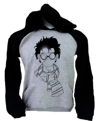 Moletom Raglan Harry Potter – Cachecol