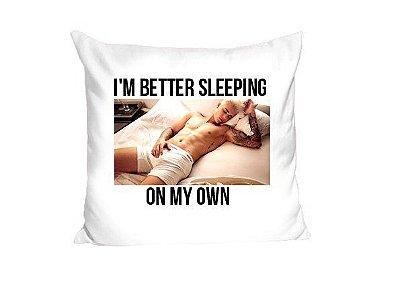 Almofada Justin Bieber – I'm Better Sleeping
