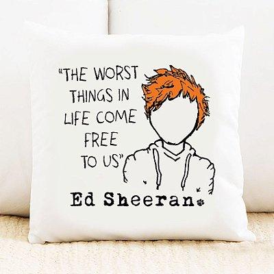 Almofada Ed Sheeran 1