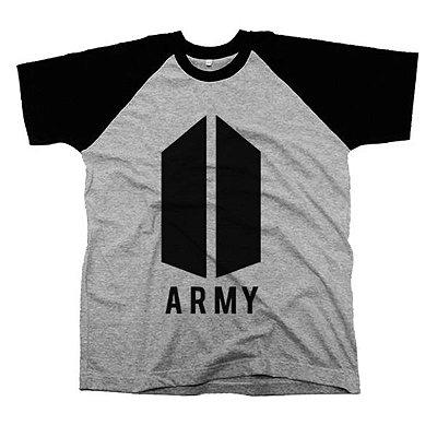 Camiseta Raglan BTS ARMY
