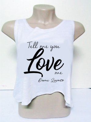 Cropped Demi Lovato – Tell Me you love Me