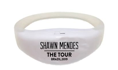 Pulseira de Led - Shawn Mendes The Tour