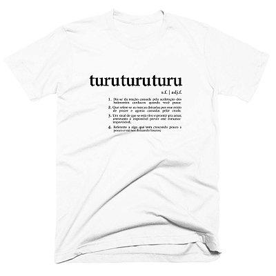 Camiseta Sandy e Júnior - Turu turu Dicionário