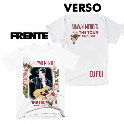 Camiseta Shawn Mendes - The Tour 2