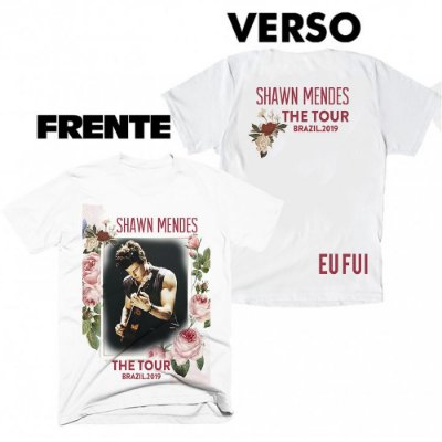 Camiseta Shawn Mendes - The Tour 5