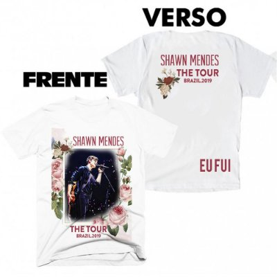 Camiseta Shawn Mendes - The Tour 10