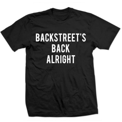Camiseta BackStreet Boys - Alright