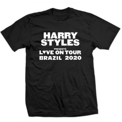Camiseta Harry Styles - Love on Tour 2