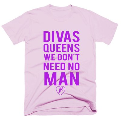 Camiseta Little Mix - Divas Queens