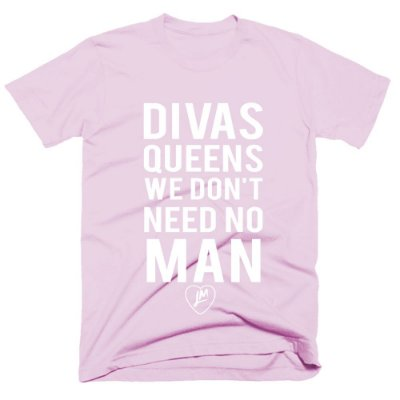 Camiseta Little Mix - Divas Queens-