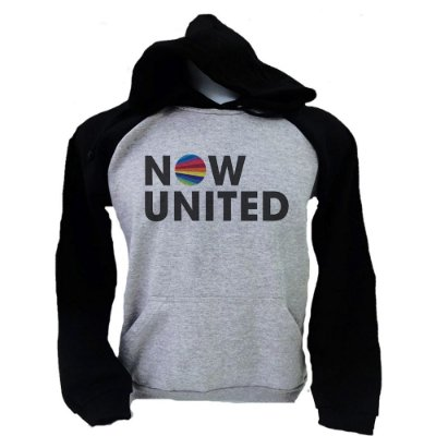 Moletom Raglan Now United