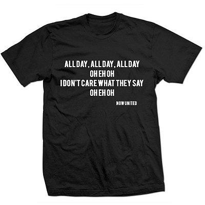Camiseta Now United - All Day