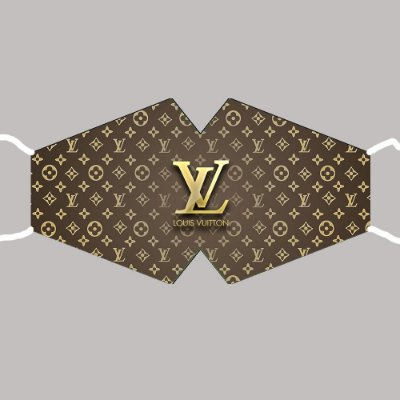 Máscara Louis Vuitton