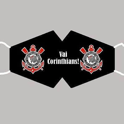 Máscara Corinthians