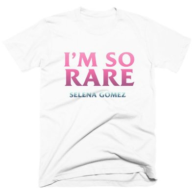 Camiseta Selena Gomez - I´m so Rare