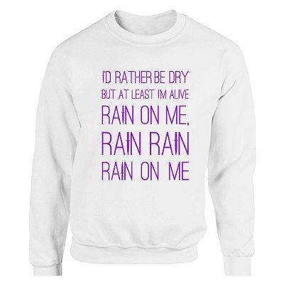 Moletom sem Capuz Ariana Grande - Rain on Me