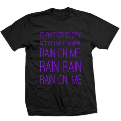 Camiseta Ariana Grande - Rain on Me 2