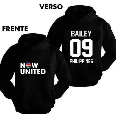 Moletom Now United - Bailey