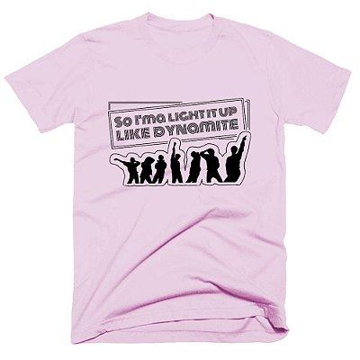 Camiseta BTS - Dynamite