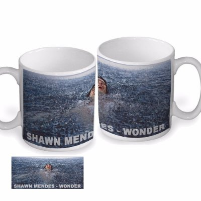 Caneca Shawn Mendes- Wonder