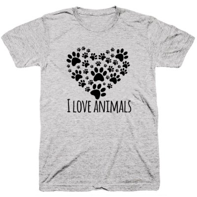 Camiseta Pet - Love Animals