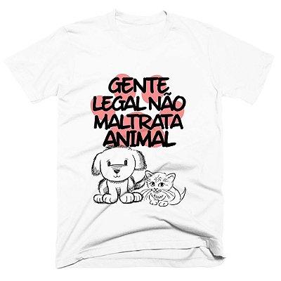 Camiseta pet - Gente Legal