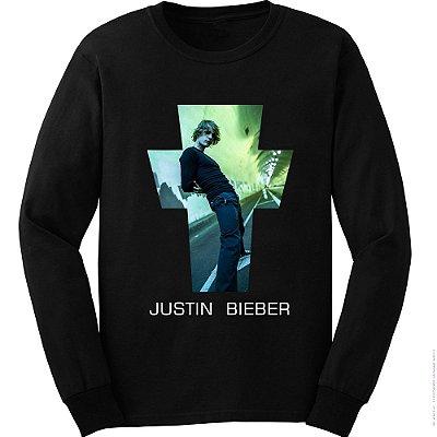 Camiseta Manga Longa Justin Bieber - Justice