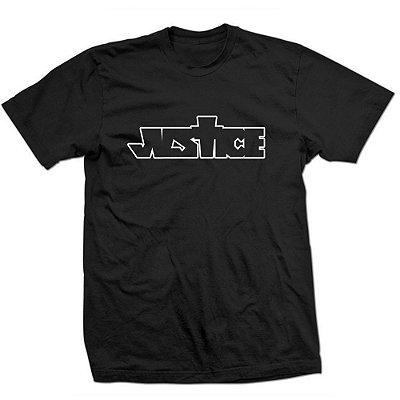 Camiseta Justin Bieber - Justice Logo