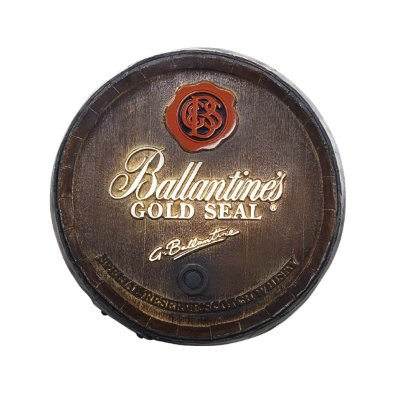 Barril Decorativo Ballantines P