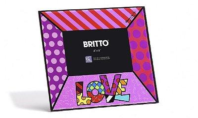 Porta Retrato Love - Romero Britto 10 x 15 Cm