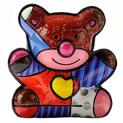 Mini Escultura Urso - Romero Britto