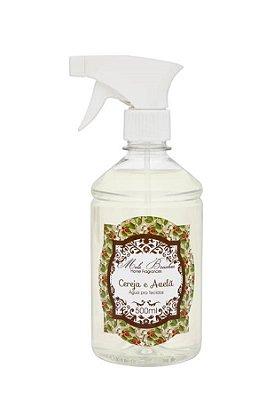 Água Perfumada p/ Tecidos Cereja e Avelã 500ML